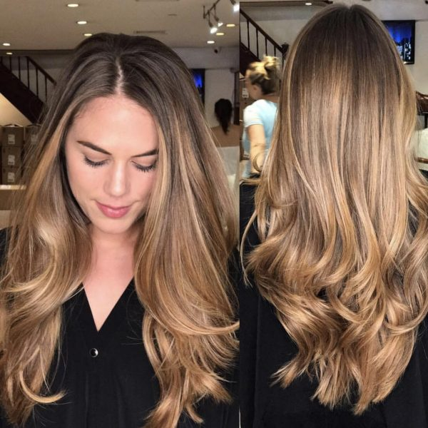 balayage highlights manhattan nyc